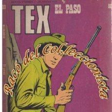 Cómics: TEX Nº 80, EL PASO, EDITORIAL BURU LAN, BURULAN, 1974. Lote 252221240