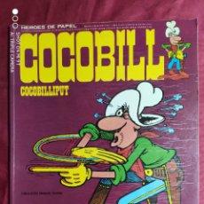 Comics: HÉROES DE PAPEL. COCOBILL. Nº 1. BURU LAN 1973. Lote 252224355