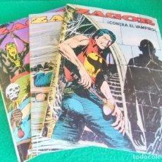 Cómics: ZAGOR - ZINCO - LOTE 3 LIBROS - NÚMEROS 2 - 5 -10 - BUEN ESTADO. Lote 252575795