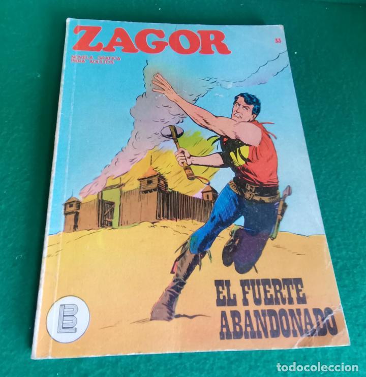 ZAGOR - BURU LAN - Nº 33 - BUEN ESTADO (Tebeos y Comics - Buru-Lan - Zagor)