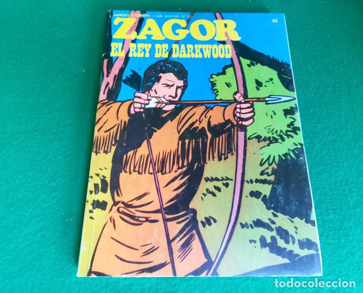 ZAGOR - BURU LAN - Nº 65 (Tebeos y Comics - Buru-Lan - Zagor)