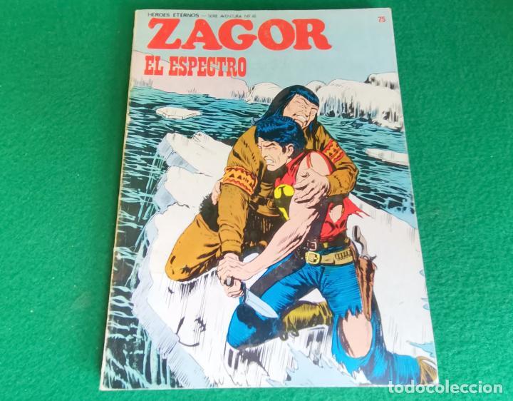 ZAGOR - BURU LAN - Nº 75 (Tebeos y Comics - Buru-Lan - Zagor)