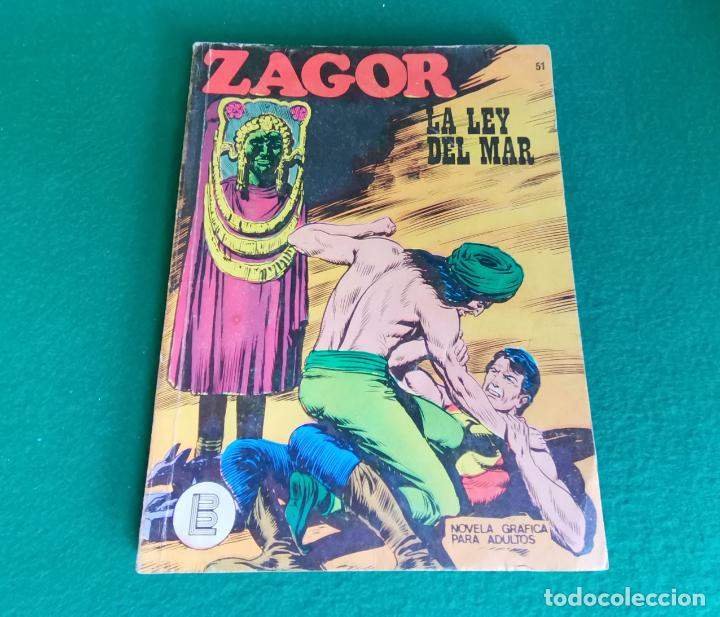 ZAGOR - BURU LAN - Nº 51 (Tebeos y Comics - Buru-Lan - Zagor)