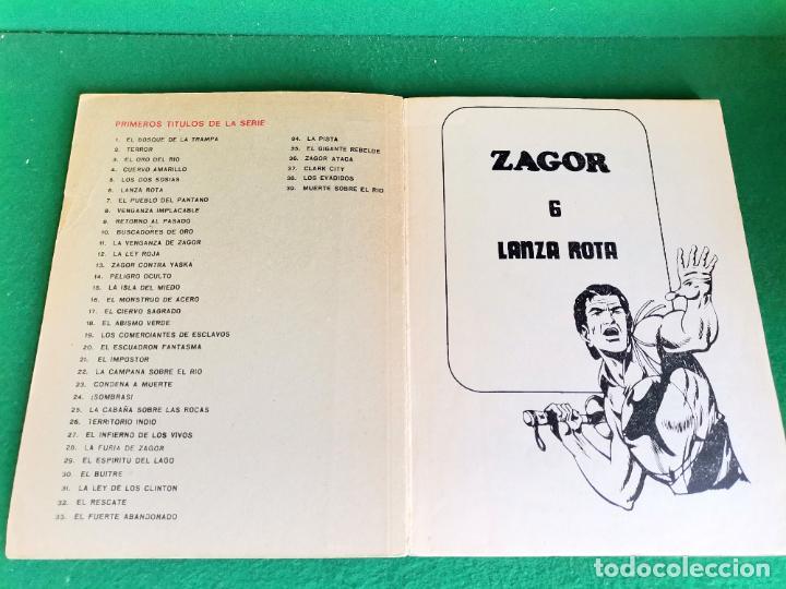Cómics: ZAGOR - BURU LAN - Nº 6 - SALDO - Foto 3 - 252638480