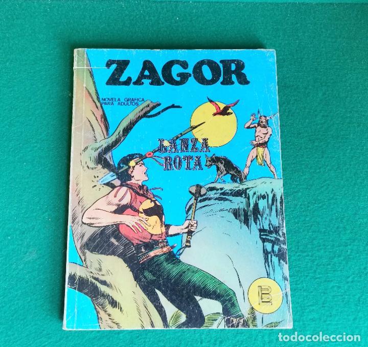 ZAGOR - BURU LAN - Nº 6 - SALDO (Tebeos y Comics - Buru-Lan - Zagor)