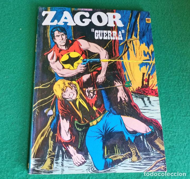 ZAGOR - BURU LAN - Nº 62 - MUY BUEN ESTADO (Tebeos y Comics - Buru-Lan - Zagor)