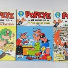 Cómics: POPEYE EL MARINO GRAN ALBUM 1-5 TOMOS. Lote 253116170