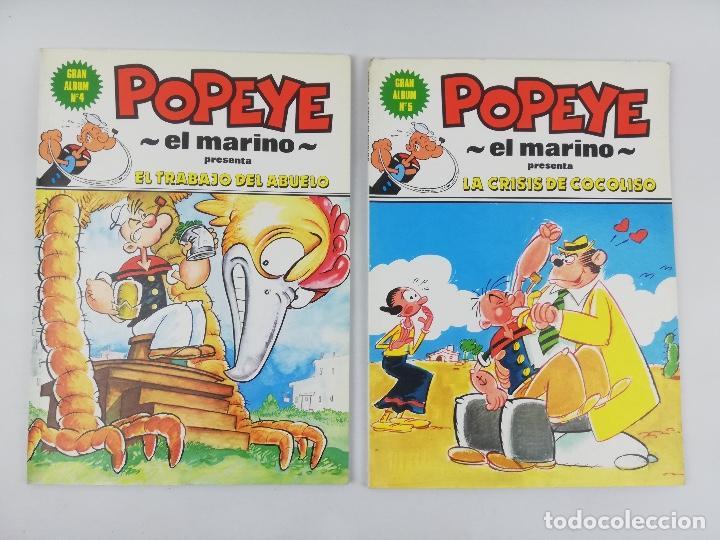 Cómics: POPEYE EL MARINO GRAN ALBUM 1-5 TOMOS - Foto 2 - 253116170