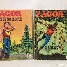 Cómics: ZAGOR BURU LAN. Nº 31. ZAGOR BURU LAN Nº 32. Lote 253190360