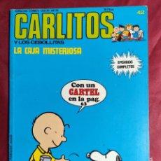 Cómics: CARLITOS Y LOS CEBOLLITAS. Nº 42. LA CAJA MISTERIOSA. BURU LAN. 1974. CONTIENE EL CARTEL. Lote 253360555