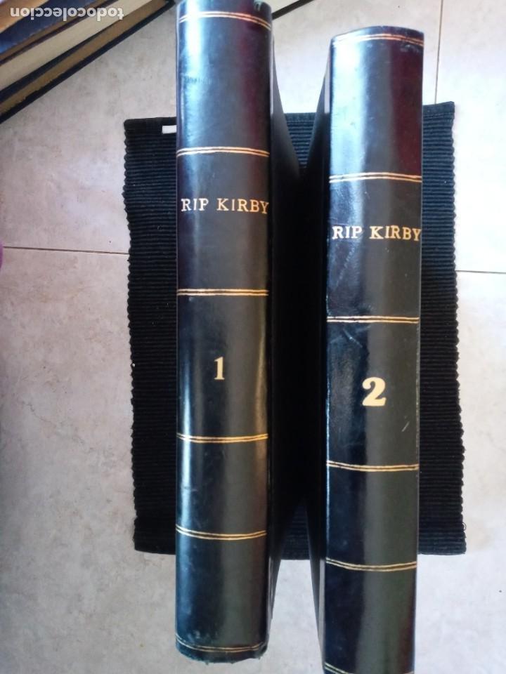 RIP KIRBY. COLECCION COMPLETA DE 4 VOLUMENES EDITORIAL BURULAN. ENCUADERNACION HOLANDESA 2 VOLS. (Tebeos y Comics - Buru-Lan - Rip Kirby)