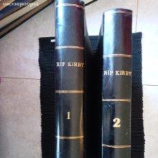Cómics: RIP KIRBY. COLECCION COMPLETA DE 4 VOLUMENES EDITORIAL BURULAN. ENCUADERNACION HOLANDESA 2 VOLS.. Lote 253986930