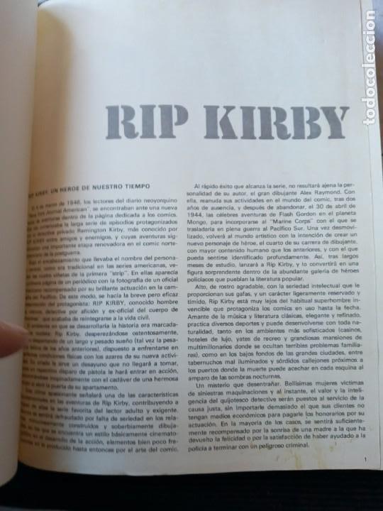 Cómics: RIP KIRBY. COLECCION COMPLETA DE 4 VOLUMENES EDITORIAL BURULAN. ENCUADERNACION HOLANDESA 2 VOLS. - Foto 2 - 253986930