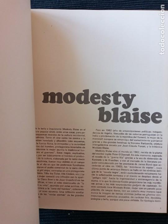 Cómics: MODESTY BLAISE. BURULAN 1974. 2 VOLUMENES ENCUADERNADOS EN UN TOMO EN HOLANDESA. - Foto 2 - 253990970