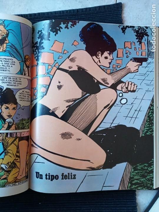Cómics: MODESTY BLAISE. BURULAN 1974. 2 VOLUMENES ENCUADERNADOS EN UN TOMO EN HOLANDESA. - Foto 9 - 253990970