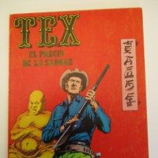 Cómics: TEX (1970, BURU LAN) 3 · 1971 · EL PRECIO DE LA SANGRE. Lote 254061075