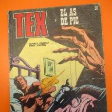 Cómics: TEX (1970, BURU LAN) 55 · 1971 · EL AS DE PIC. Lote 254061700