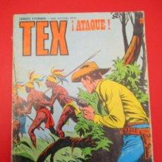 Cómics: TEX (1970, BURU LAN) 91 · 1971 · ¡ATAQUE!. Lote 254072225