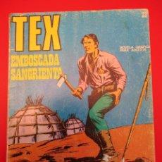 Cómics: TEX (1970, BURU LAN) 22 · 1971 · EMBOSCADA SANGRIENTA. Lote 254072755