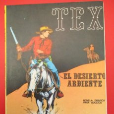 Cómics: TEX (1970, BURU LAN) 13 · 1971 · EL DESIERTO ARDIENTE. Lote 254077350