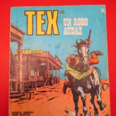 Cómics: TEX (1970, BURU LAN) 34 · 1971 · UN ROBO AUDAZ. Lote 254078590