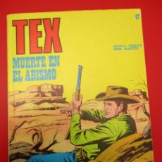Cómics: TEX (1970, BURU LAN) 47 · 1971 · MUERTE EN EL ABISMO. Lote 254090700