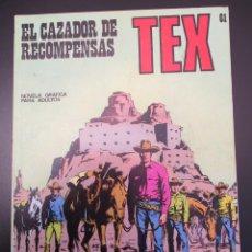 Cómics: TEX (1970, BURU LAN) 61 · 1971 · EL CAZADOR DE RECOMPENSAS. Lote 254091580