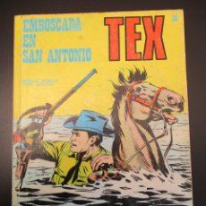 Cómics: TEX (1970, BURU LAN) 36 · 1971 · EMBOSCADA EN SAN ANTONIO. Lote 254092705
