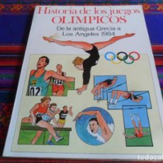 Cómics: HISTORIA DE LOS JUEGOS OLÍMPICOS DE LA ANTIGUA GRECIA A LOS ANGELES 1984. BURU-LAN BURU LAN 1984.. Lote 254122985