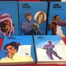 Fumetti: EL HOMBRE ENMASCARADO, BURU LAN EDICIONES, LOTE DE 5 TOMOS, NUMEROS 0, 4, 5, 6 Y 7. Lote 254418275