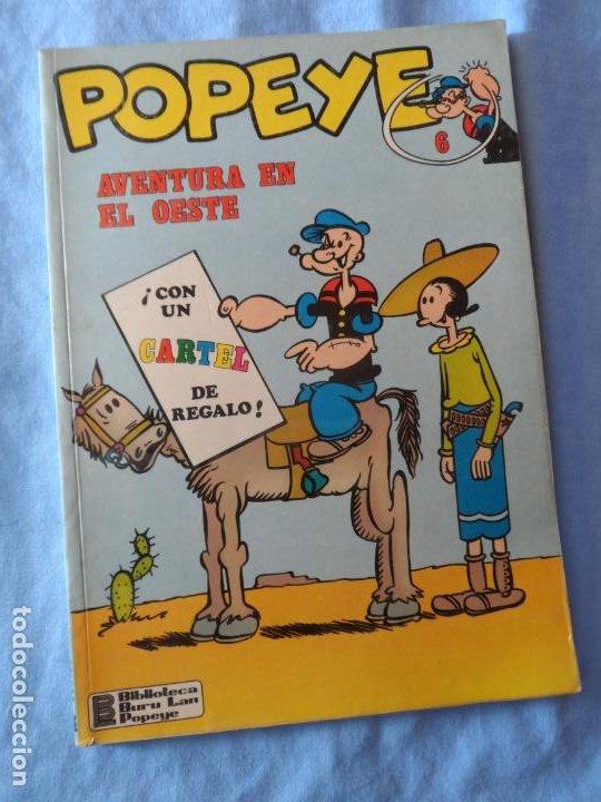 POPEYE Nº 6 BURULAN 1972 BURU LAN (Tebeos y Comics - Buru-Lan - Otros)