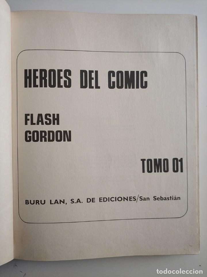 Cómics: Flash gordon tomo 01, el rayo celeste, Buru lan - Foto 2 - 254904945