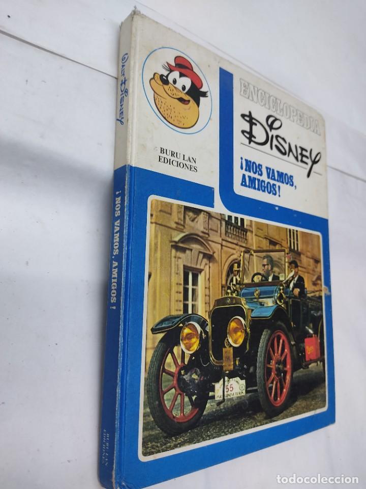 Cómics: ENCICLOPEDIA DISNEY ¡NOS VAMOS, AMIGOS! EL TRANSPORTE (1972) EDITORIAL BURU LAN. - Foto 2 - 255929050