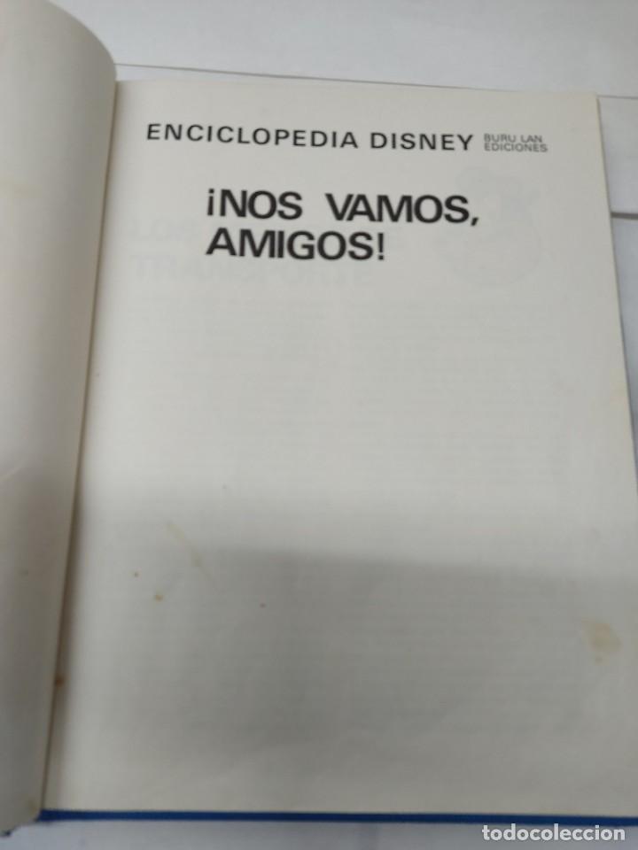 Cómics: ENCICLOPEDIA DISNEY ¡NOS VAMOS, AMIGOS! EL TRANSPORTE (1972) EDITORIAL BURU LAN. - Foto 4 - 255929050