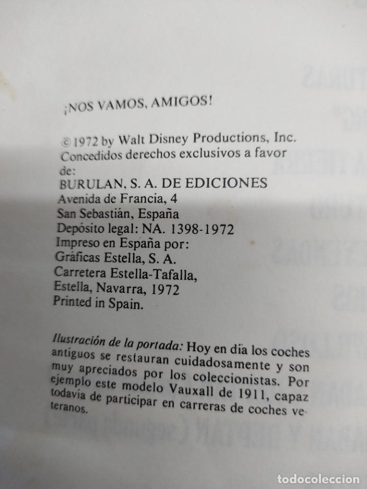 Cómics: ENCICLOPEDIA DISNEY ¡NOS VAMOS, AMIGOS! EL TRANSPORTE (1972) EDITORIAL BURU LAN. - Foto 5 - 255929050