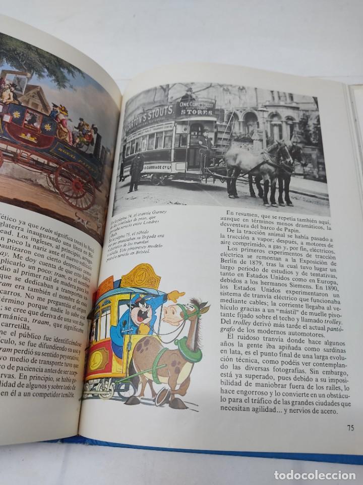 Cómics: ENCICLOPEDIA DISNEY ¡NOS VAMOS, AMIGOS! EL TRANSPORTE (1972) EDITORIAL BURU LAN. - Foto 6 - 255929050