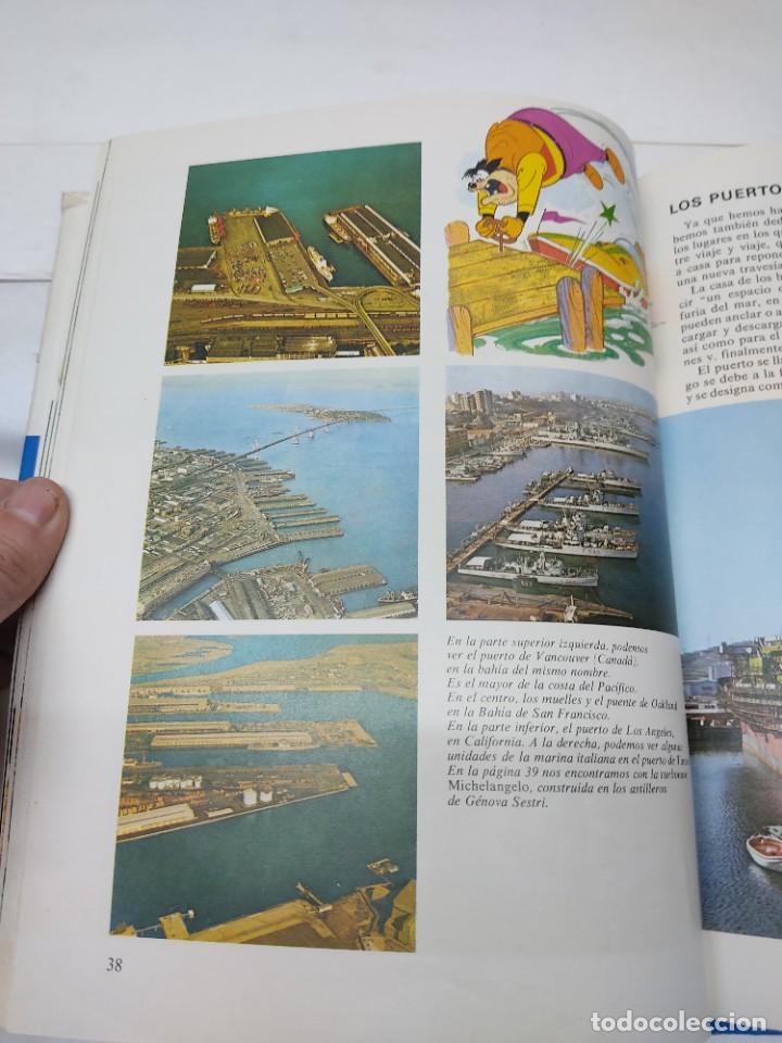 Cómics: ENCICLOPEDIA DISNEY ¡NOS VAMOS, AMIGOS! EL TRANSPORTE (1972) EDITORIAL BURU LAN. - Foto 7 - 255929050