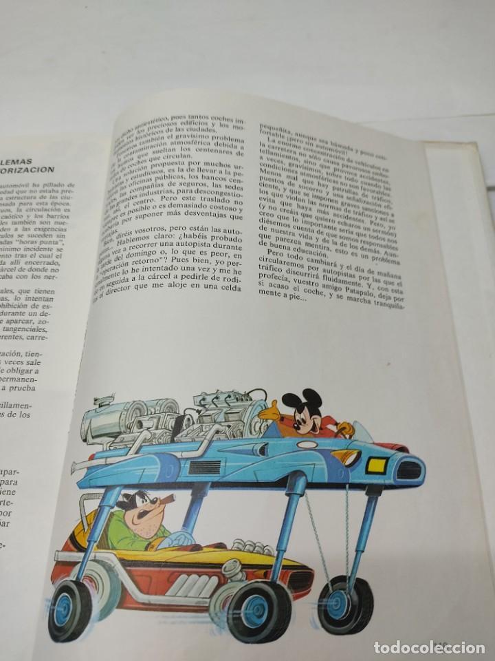 Cómics: ENCICLOPEDIA DISNEY ¡NOS VAMOS, AMIGOS! EL TRANSPORTE (1972) EDITORIAL BURU LAN. - Foto 10 - 255929050