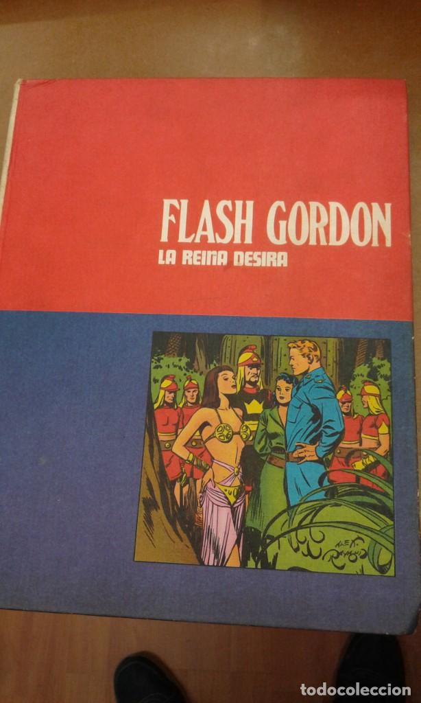 FLASH GORDON. LA REINA DESIRA TOMO II HEROES DEL COMIC (Tebeos y Comics - Buru-Lan - Flash Gordon)