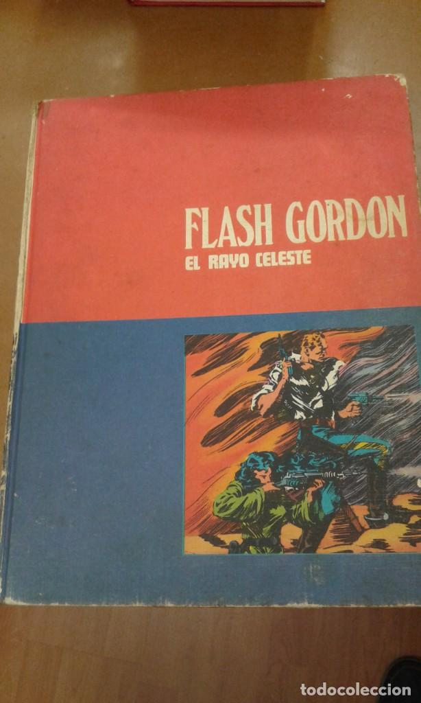 FLASH GORDON TOMO 01 EL RAYO CELESTE BURU LAN (Tebeos y Comics - Buru-Lan - Flash Gordon)