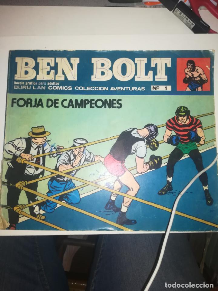 BEN BOLT #1 (Tebeos y Comics - Buru-Lan - Otros)