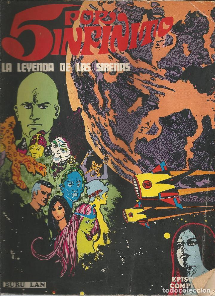 5 POR INFINITO LA LEYENDA DE LAS SIRENAS Nº 2 BURU LAN (Tebeos y Comics - Buru-Lan - Otros)