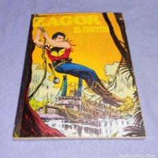 Comics: ZAGOR EL FUGITIVO Nº 63 BURU LAN BURULAN EDICIONES COMPLETO EN MUY BUEN ESTADO. Lote 256030180