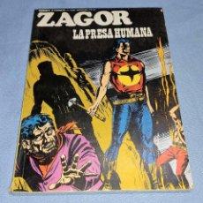 Cómics: ZAGOR LA PRESA HUMANA Nº 61 BURU LAN BURULAN EDICIONES COMPLETO EN MUY BUEN ESTADO. Lote 256032005