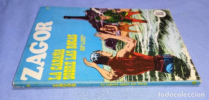 Cómics: ZAGOR LA CABAÑA SOBRE LAS ROCAS Nº 25 BURU LAN BURULAN EDICIONES COMPLETO EN MUY BUEN ESTADO - Foto 2 - 256035405