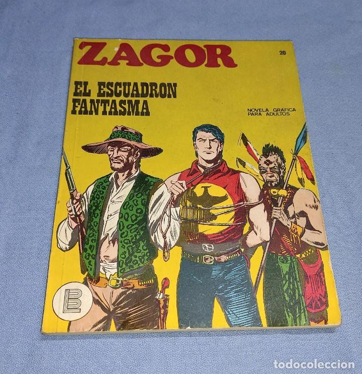 ZAGOR EL ESCUADRON FANTASMA Nº 20 BURU LAN BURULAN EDICIONES COMPLETO EN MUY BUEN ESTADO (Tebeos y Comics - Buru-Lan - Zagor)