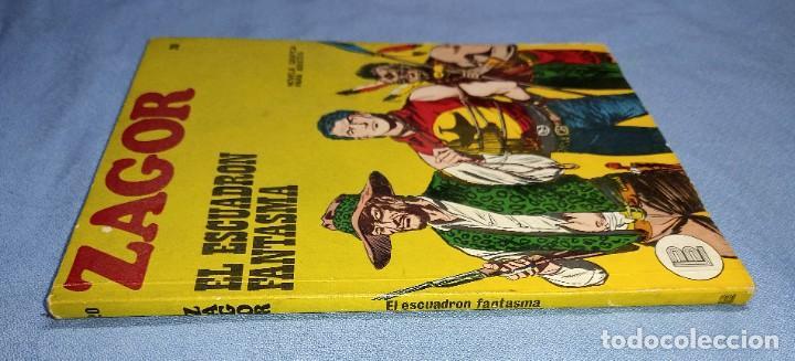 Cómics: ZAGOR EL ESCUADRON FANTASMA Nº 20 BURU LAN BURULAN EDICIONES COMPLETO EN MUY BUEN ESTADO - Foto 2 - 256035820