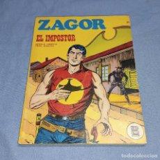 Cómics: ZAGOR EL IMPOSTOR Nº 21 BURU LAN BURULAN EDICIONES COMPLETO EN MUY BUEN ESTADO. Lote 256036205