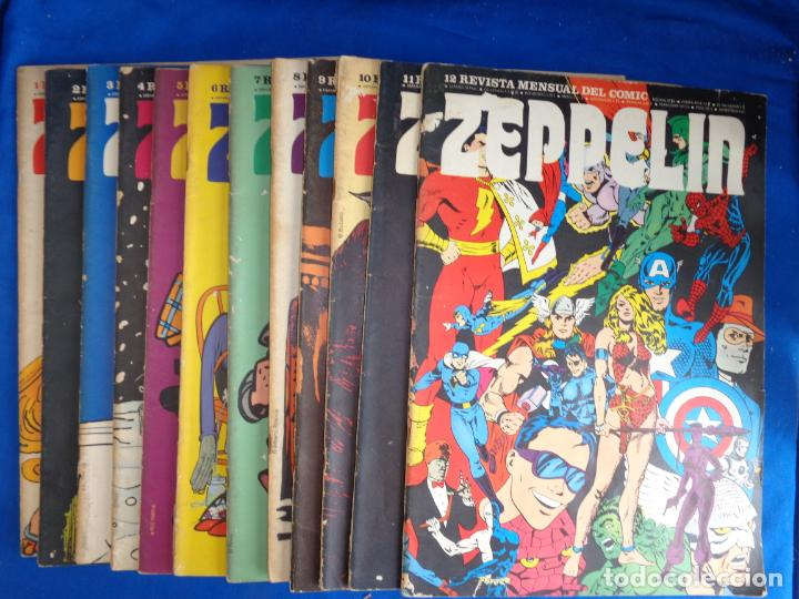 ZEPPELIN COMPLETA BURU-LAN EDICIONES, VER FOTOS! SM (Tebeos y Comics - Buru-Lan - Otros)