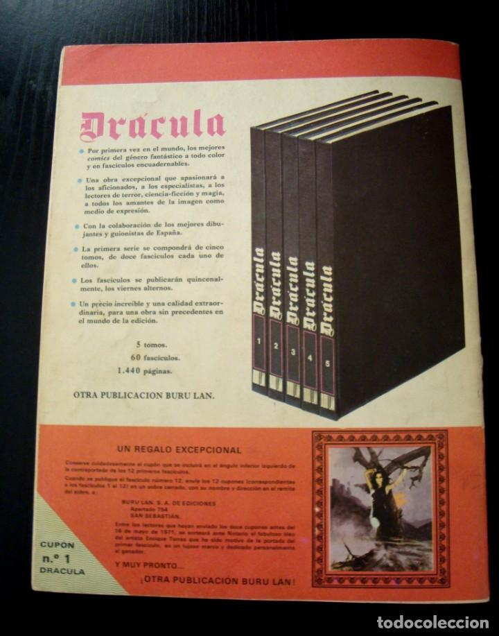 Cómics: DRÁCULA Nº 1 BURU LAN DE 1971 - Foto 8 - 257934930